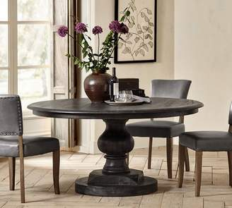 Pottery Barn Nolan Round Pedestal Dining Table