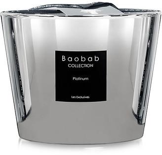 "Baobab Collection Platinum Candle - Amber & Grapefruit 4"""