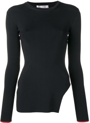 Victoria Beckham Side Cut Out Sweater