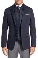 BOSS Men's 'Hadwart' Trim Fit Cotton Blend Blazer