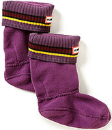 Hunter Kids' Original Bouy Stripe Cuff Socks