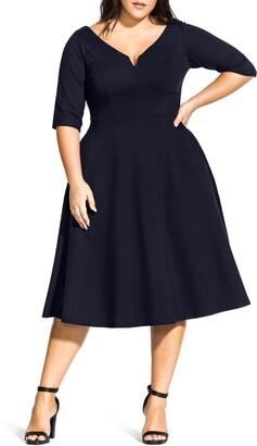 City Chic Cute Girl Dress