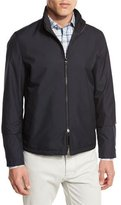 Ermenegildo Zegna Reversible Tech Bomber Jacket, Navy