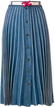Elisabetta Franchi pleated midi skirt