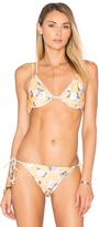 MinkPink Spread Like Wildflowers Bikini Top