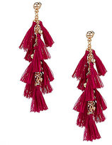 Anna & Ava Maria Mini-Tassel Statement Earrings