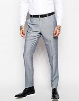 Asos Slim Fit Suit Trousers In Linen