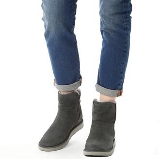 UGG Classic Womens Abree Mini Boots Grigio