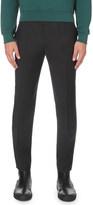 McQ by Alexander McQueen Peg leg regular-fit wool-blend trousers