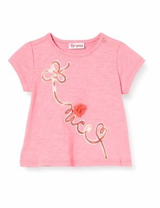 Brums Baby Girls' T-Shirt Jersey Fiammato Con Ricamo Kniited Tank Top
