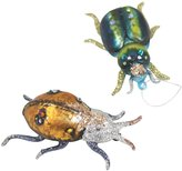 Cody Foster & Co Beetle Ornament Set