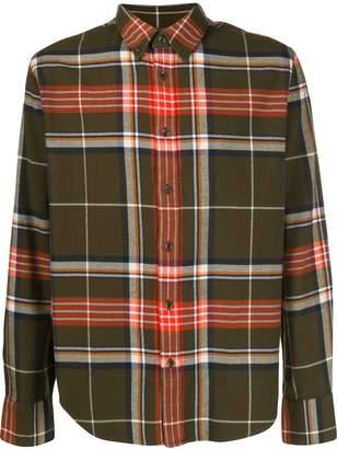 Rag & Bone checked button-down shirt