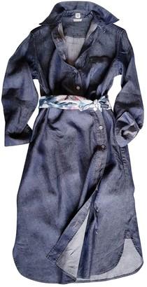 Hermã ̈S HermAs Blue Linen Dresses