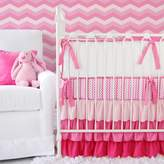 Caden Lane 2 Piece Ruffle Crib Set