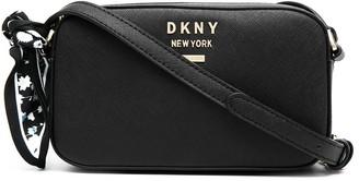 DKNY Liza scarf-embellished crossbody bag