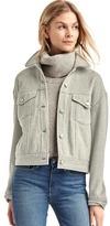 Gap Twill denim-style jacket