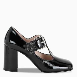 Miu Miu Black patent leather pumps