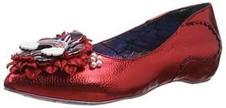 Irregular Choice Women's Little Lady Daisy Closed Toe Heels, Black C, 40 EU