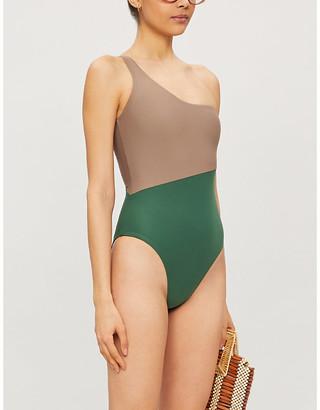 Magda one-shoulder swimsuit