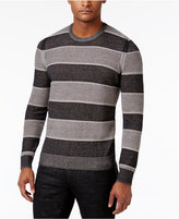 INC International Concepts Men's Penifield Striped Cotton Sweater, Only at Macy's