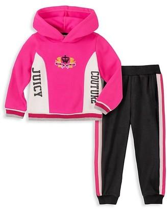 Juicy Couture Little Girl's 2-Piece Jacket & Pants Set