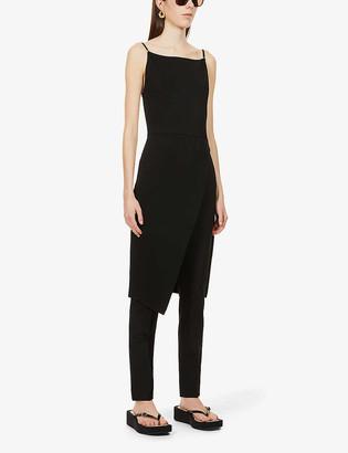 Sportmax Sleeveless stretch-woven midi dress