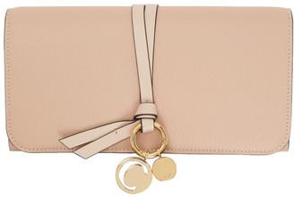 Chloé Pink Long Alphabet Wallet