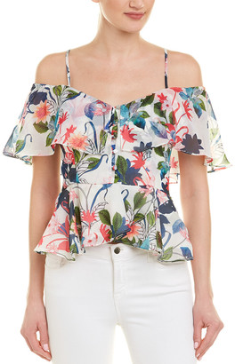 Parker Off-The-Shoulder Ruffle Top