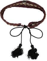 Stella McCartney Woven Chain-Link Belt