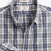 J.Crew Slim Albiate 1830 for washed shirt in plaid