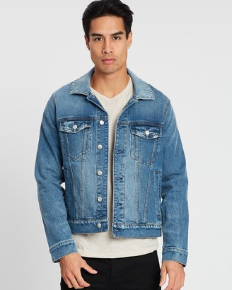 Abercrombie & Fitch Stretch Denim Jacket