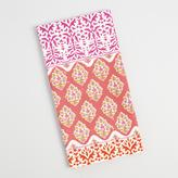 Pink Stripe Patchwork Kitchen Towel