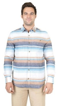 Mountain And Isles Men's Baja Button Down Flannel Shirt