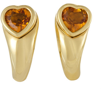 Piaget 18K 2.00 Ct. Tw. Citrine Earrings