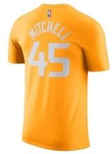 Nike Men's Utah Jazz 2019 Men's City Edition Name and Number T-Shirt Donovan Mitchell