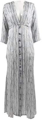 Theyskens' Theory Blue Silk Dresses