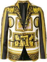 Versace baroque print blazer