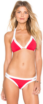 Seafolly Block Party Slide Triangle Bikini Top