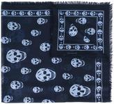 Alexander McQueen Skull scarf - men - Modal/Silk - One Size
