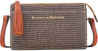 Dooney & Bourke Lizard Embossed Leather Gingy Crossbody