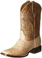 Stetson Women's 11 Inch Orix Ostrich Square Toe Riding Boot
