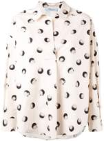 Blumarine printed shirt