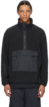 Nike ACG Black NRG Half-Zip Sweater