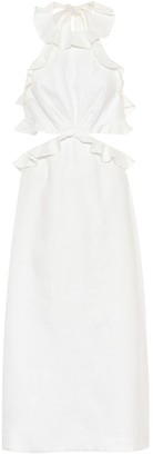 Zimmermann Lovestruck linen midi dress