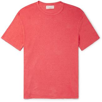 Officine Generale Pigment-Dyed Linen T-Shirt