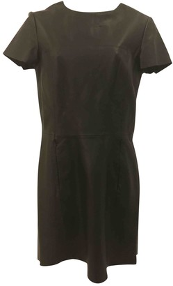 Veda Black Leather Dress for Women