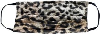 Nicole Miller Leopard Print Face Mask