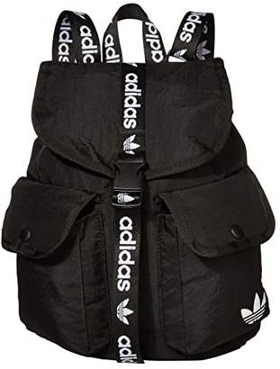 adidas Originals Utility Mini Backpack (Black/White 1) Backpack Bags