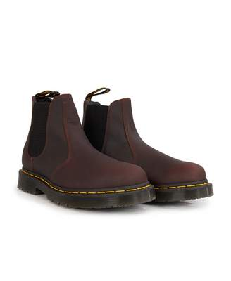 Dr. Martens 2976 Leather Chelsea Boots Colour: COCOA, Size: UK 7