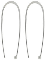 Melissa Joy Manning Open Oval Hoop Earrings